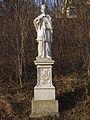 Figurenbildstock hl. Johannes Nepomuk beim Kahlenberger Friedhof.jpg