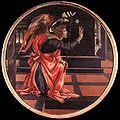 Filippino lippi, angelo annunciante, museo civico di san gimignano.jpg