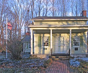 Millard Fillmore - Millard Fillmore helped build this house in East Aurora, New York, and lived here 1826–1830.