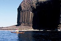 Fingal's Cave by sea kayak - geograph.org.uk - 1261476.jpg