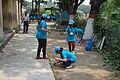 Fire-making - Survival Programme - Summer Camp - Nisana Foundation - Sibpur BE College Model High School - Howrah 2013-06-09 9650.JPG