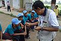 Fire-making - Survival Programme - Summer Camp - Nisana Foundation - Sibpur BE College Model High School - Howrah 2013-06-09 9676.JPG