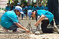 Fire-making - Survival Programme - Summer Camp - Nisana Foundation - Sibpur BE College Model High School - Howrah 2013-06-09 9688.JPG