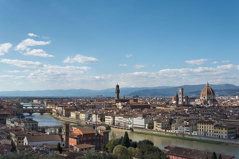 Italian Florence: Piazzale Michelangelo, Firenze, Italy