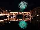 Fireworks over Ponte Vecchio 2.JPG