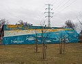 Fishes, mural and electricity pylon, 2019 Újpest.jpg