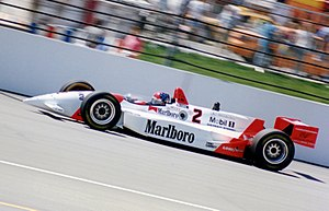 Indianapolis 500 - Emerson Fittipaldi driving the Penske PC-23 at the 1994 event