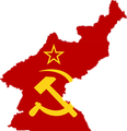Flag Map of North Korea (Soviet Civil Authority) 1946-1948.png