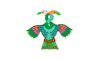 Rabinal - Image: Flag of Baja Verapaz, Guatemala