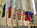 Flags - Anglican Cathedral of the Most Holy Trinity - Hamilton, Bermuda, 2014..JPG