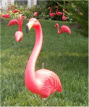 Don Featherstone (artist) - A plastic flamingo as designed by Don Featherstone