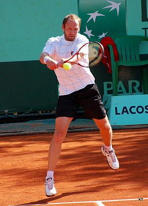 Rainer Schüttler - Schüttler at the 2011 French Open