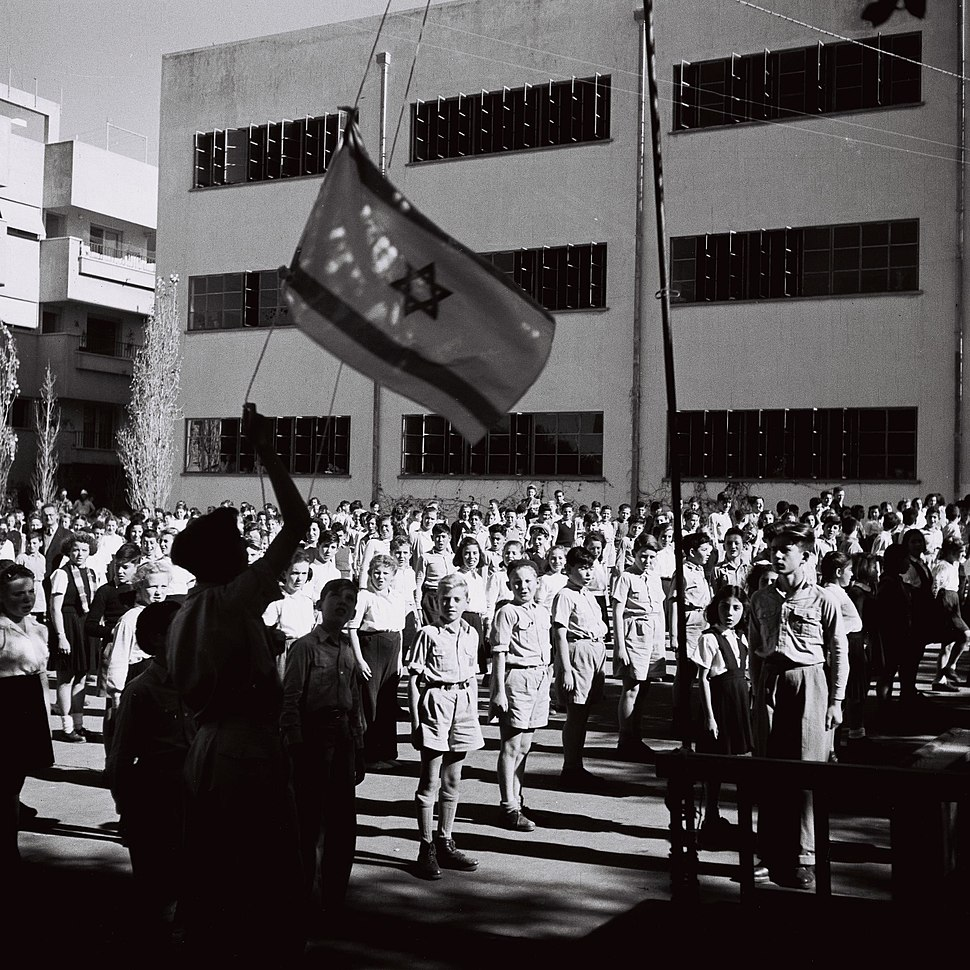 Flickr - Government Press Office (GPO) - Hoisting of the national flag during a special ceremony of elementary school children