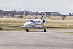 Flight Options (VH-SQY) Cessna 510 Citation Mustang taxiing at Wagga Wagga Airport (1).jpg