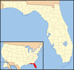 Georgetown, Florida is located in Florida