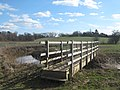 Footbridge on the Kent and Sussex Border - geograph.org.uk - 1735498.jpg