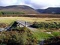 Footbridge over the Feshie - geograph.org.uk - 1528870.jpg