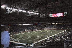 MAC Football Championship Game - Image: Ford Fieldinside MAC2006game