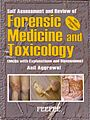 Forensic medicine and toxicology mcq aggrawal 2006.jpg