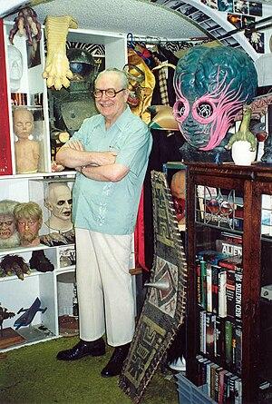 Forrest J Ackerman - Forrest J Ackerman at the Ackermansion