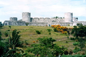 Fort Belgica - Fort Belgica in the late 1990s