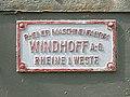 Forte Marghera, ŝildo Windhoff 1.jpeg
