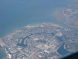 Aerial view of Foster City