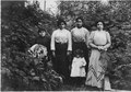 Four Indian women, one child. Unidentified. - NARA - 297571.tif