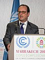François Hollande at COP22 (cropped).jpg