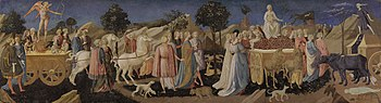 The Triumphs of Love, Chastity, and Death (cas...
