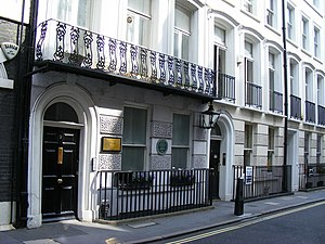 St James's Place - Image: Francis Chichester Map and Guide publishing house geograph.org.uk 1376279