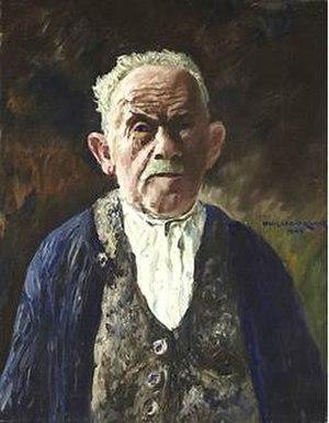 Philipp Franck - Self-portrait (1943)