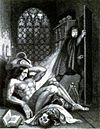 Illustration from the frontispiece of the 1831 edition by Theodor von Holst.