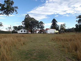 Franklyn Vale Homestead - Building in 2015