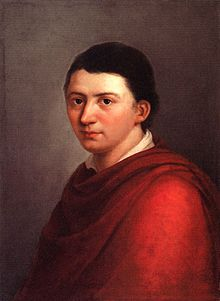 Friedrich Schlegel von Franz Gareis in 1801 (Quelle: Wikimedia)