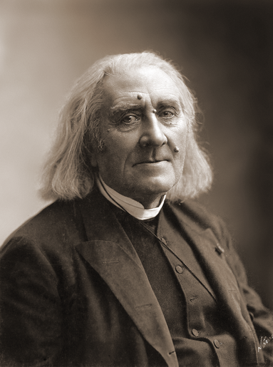 Liszt in March 1886, four months before his death, photographed by Nadar Franz Liszt by Nadar, March 1886.png