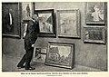 Franz Skarbina vor seinen neuen Gemälden, 1901.jpg
