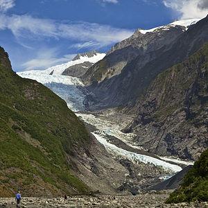 Westland Tai Poutini National Park - Franz Josef Glacier in 2011