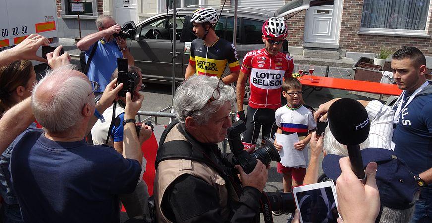 Frasnes-lez-Anvaing - Tour de Wallonie, étape 1, 26 juillet 2014, départ (B102).JPG