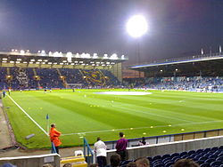 Fratton Park, o estádio do Portsmouth.
