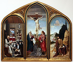 Triptych of Calvary