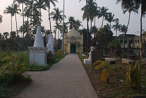 Chandannagar - French Cemetery.