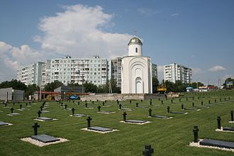 Bender, Moldova - The historical military cemetery in the city.