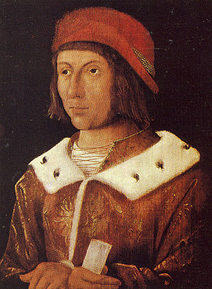 Frederick I, Elector Palatine - Frederick I, Count Palatine of the Rhine (painting of Albrecht Altdorfer)