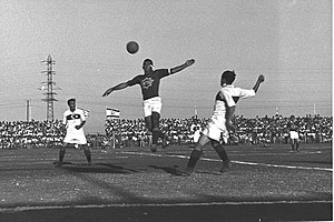 Friendly match between Israel and Turkey, Ramat Gan stadium, September 1950 D448-100.jpg