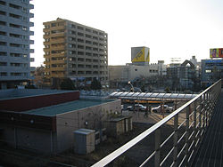 View from Fujieda Station