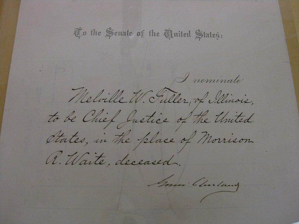 Fuller Nomination