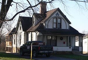 National Register of Historic Places listings in Callaway County, Missouri - Image: Fulton, Missouri 304 E 5th St from NE 1