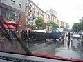 Funerary convoy in Ramnicu Valcea - panoramio.jpg