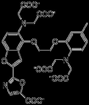 Aminopolycarboxylic acid - Image: Fura 2